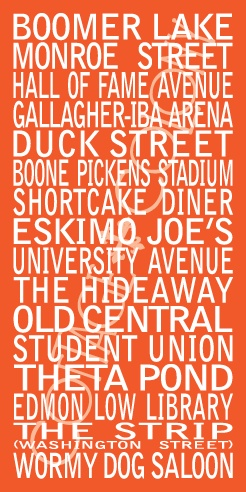 Oklahoma State University Landmarks