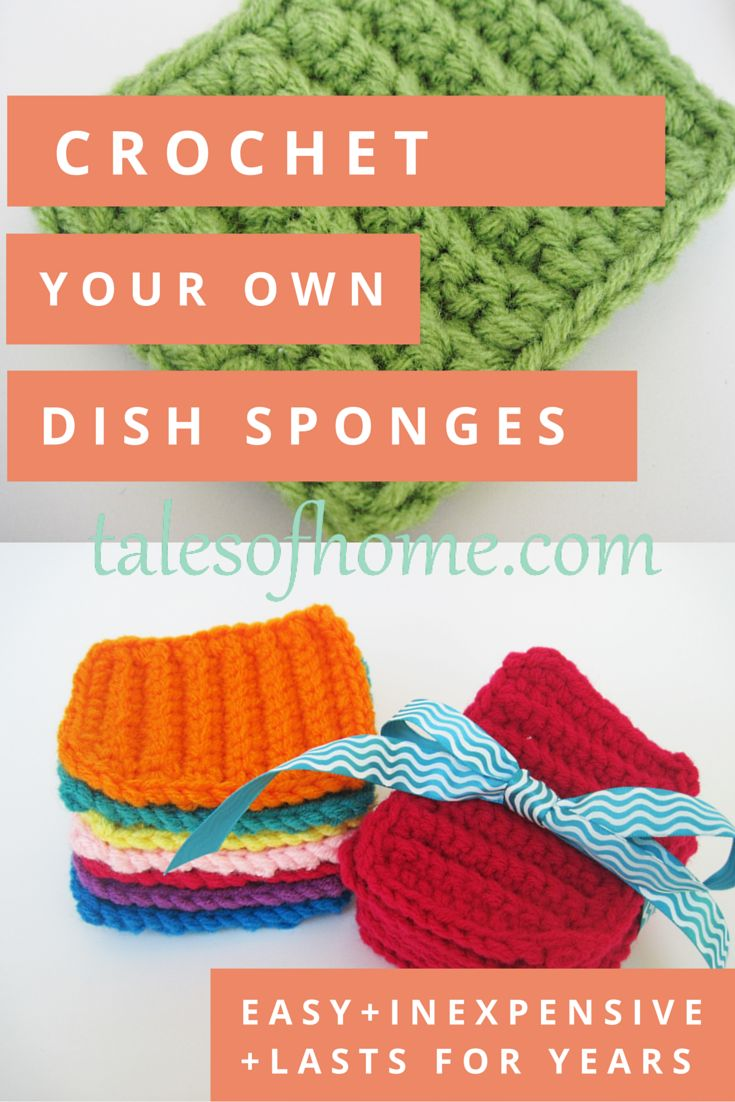 1216 best Crochet Dishcoths images on Pinterest | Knit crochet, Free ...