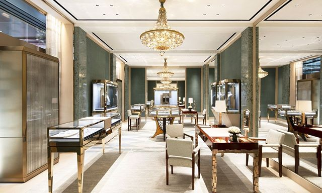 Graff Opened The Doors To Its New Hong Kong Flagship Boutique This Past Weekend More Than Just A Place To Shop Showcase Design Low Tables Handmade Chandelier