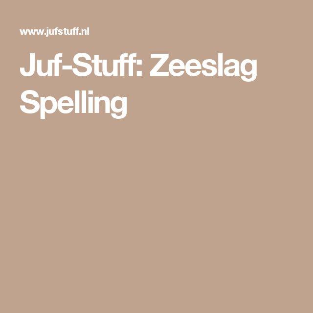 Juf-Stuff: Zeeslag Spelling