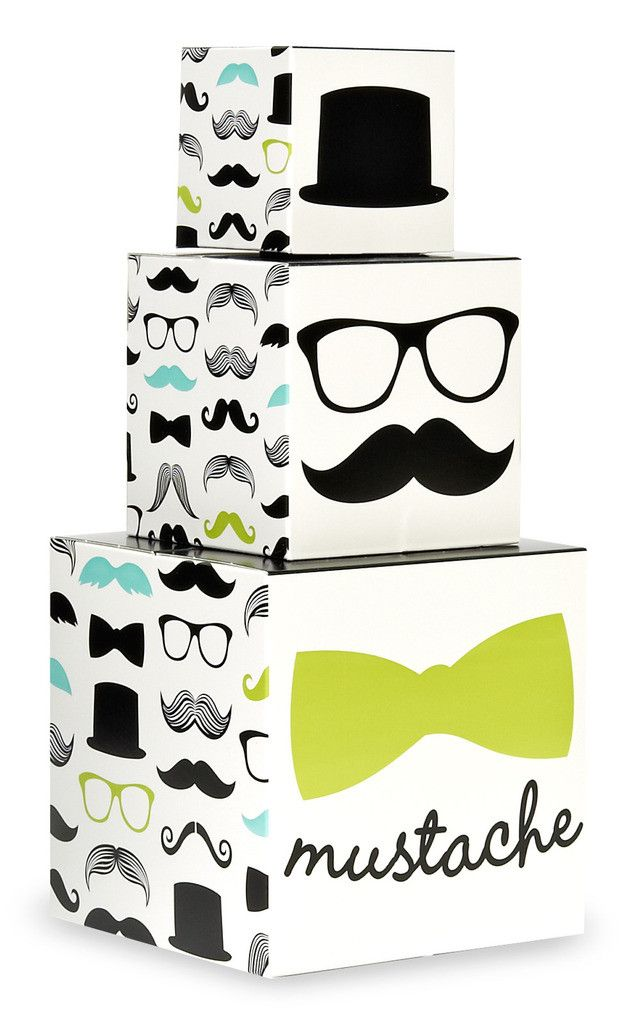 Mustache Man Centerpiece
