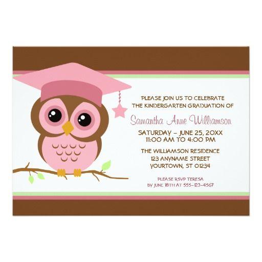 130 best kindergarten graduation invitations images on Pinterest