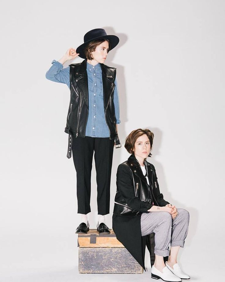 Tegan and Sara |Feature in NYLON out today! Thanks to Derek Wood photo + Dani Michelle styling