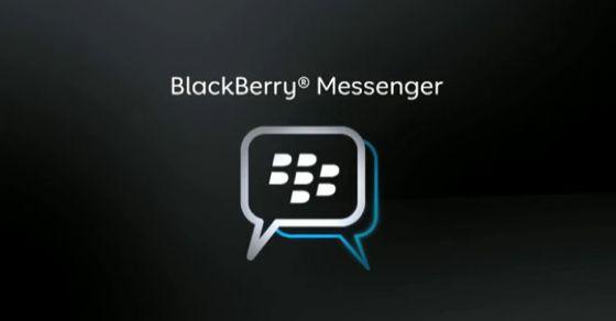 Blackberry- instant messenger systems