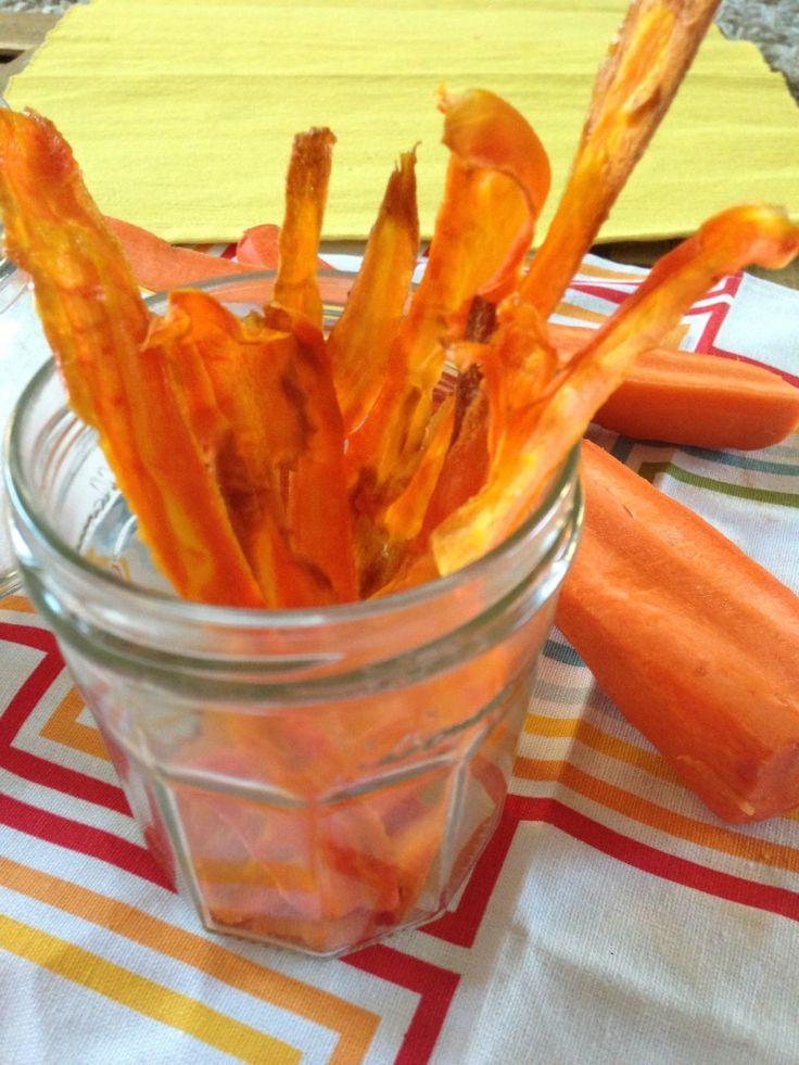 Carrot Chips. | // eats // | Pinterest