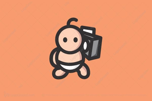 Logo for sale: Baby Boombox Logo