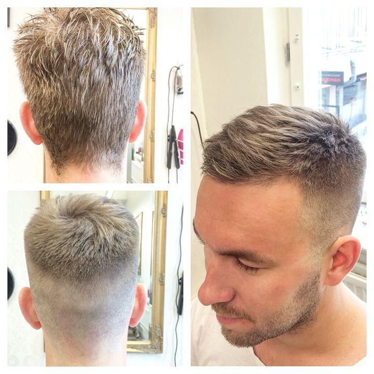 Crew cut! Before & after.💈#velvetkampaamot #barber #barberlife #oster97 #wahlpro #wahl #skinfade #combover #clipperovercomb #shearsovercomb #sharingiscaring #internationalbarbers #barbershop #barberworld #barbers #barberlove #menshair #menshaircut #menshairstyle #mensfashion #hairstylesformen #menshairworld #hairstylemens #schwarzkopfpro #schwarzkopfprofessional #apassionforhair #velvettöölö #guyshair #hairstylesmenofficial #crewcuts