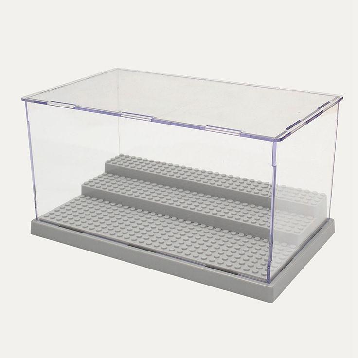 $30.76 (Buy here: https://alitems.com/g/1e8d114494ebda23ff8b16525dc3e8/?i=5&ulp=https%3A%2F%2Fwww.aliexpress.com%2Fitem%2FNew-3-Steps-Display-Case-Box-Dustproof-ShowCase-Gray-Base-For-LEGO-Blocks-Acrylic-Plastic-Display%2F32683214848.html ) New 3 Steps Display Case/Box Dustproof ShowCase Gray Base For LEGO Blocks Acrylic Plastic Display Box Case 25.5X15.5X13.8cm for just $30.76