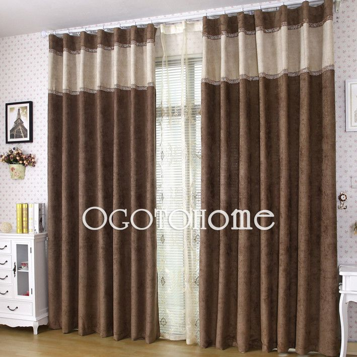 1000+ Ideas About Brown Curtains On Pinterest