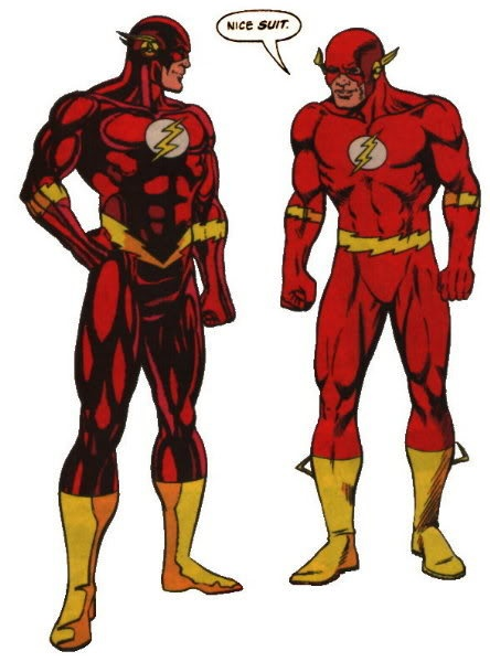 The Flash vs Superman Race | flash vs quicksilver - Comic Vine