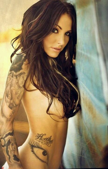 sexy girl with tattoos - photo #42