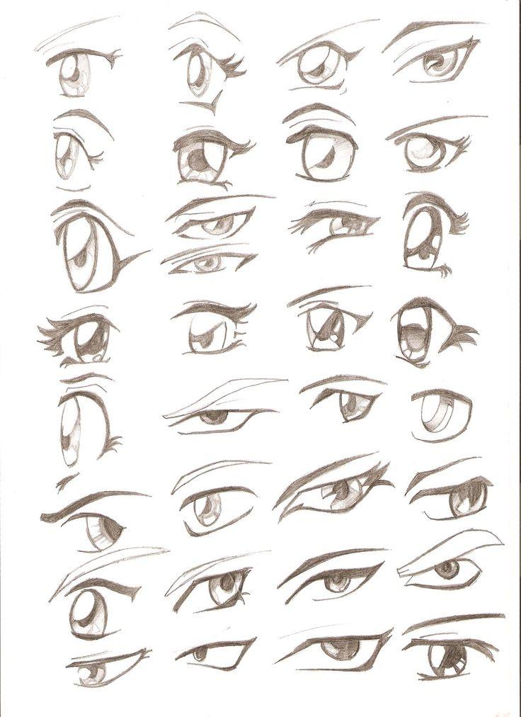 Desenhando Mangá - Olhos
