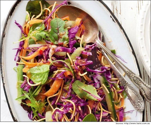 Lettuce Vegetable Salad Rainbow Salad