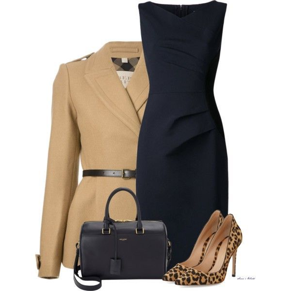 12 winter work outfits with dresses - Page 3 of 12 - women-outfits.com