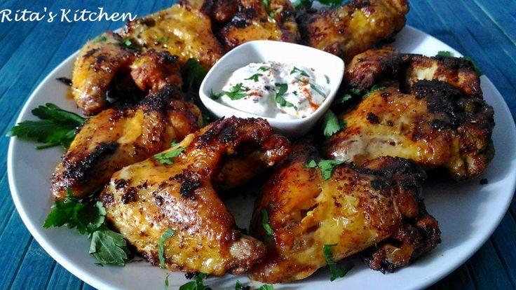 Alette di pollo al forno e una serata tra amici