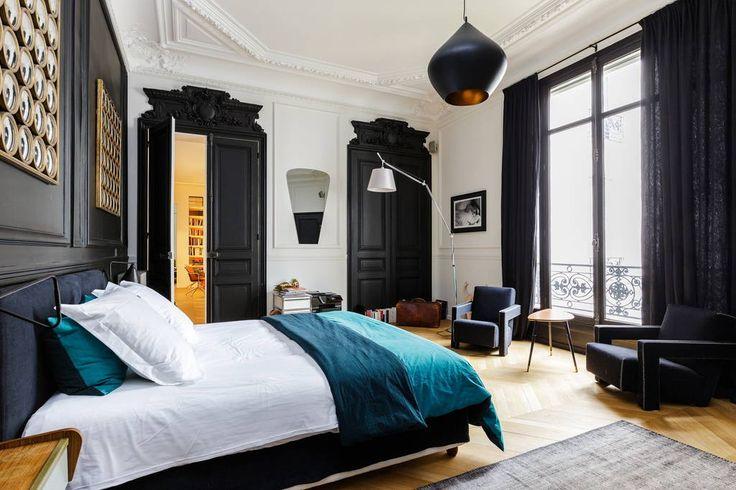 Appartement hyper design - Appartements à louer à Paris More Plus de découvertes sur Déco Tendency.com #deco #design #blogdeco #blogueur