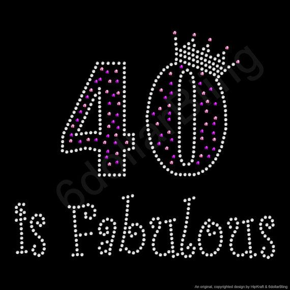 Strass ijzer op overdracht 40 is Fabulous Crystal door 6dollarBling