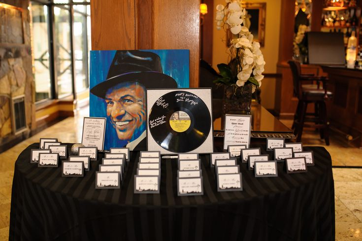 Frank Sinatra-Themed 70th Birthday Party - BirthdayWire.com