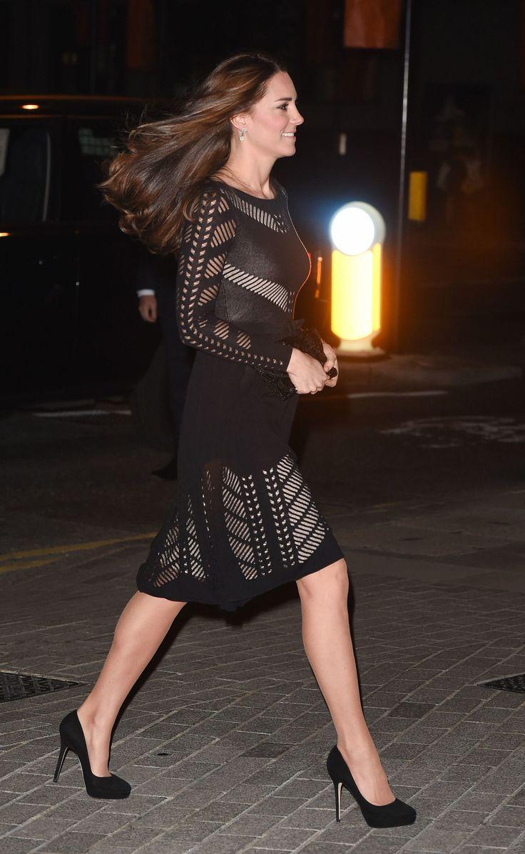 kate middleton wind hair night