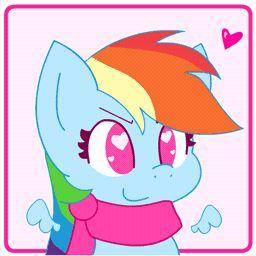 Rainbow Dash is Bouncy GIF by HungrySohma16 #mlp #fanart #rainbowdash