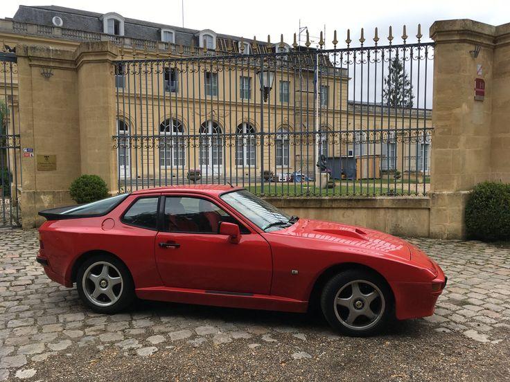 Porsche 944 Euro Spec With Euro Rear Valance Rockers And 924 Hood Scoop Porsche 944 Porsche Bmw Car