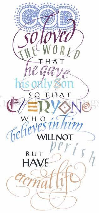 ~John 3:16~