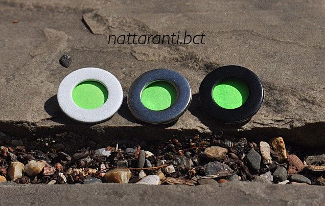 simple elegant brooches neon green eco recycle handmade items wedding guest pins by nattaranti on Etsy