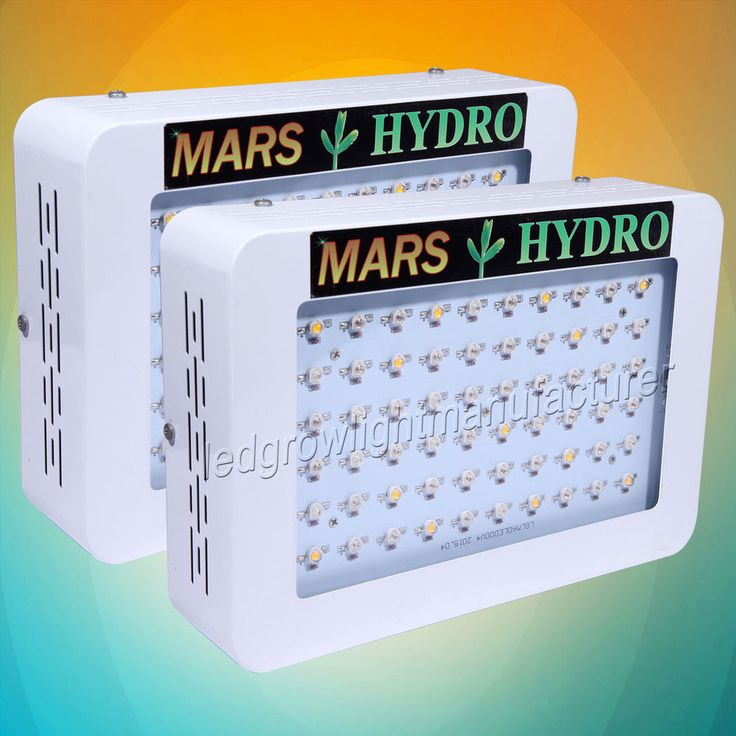 2PCS Mars Hydro 300W Led Grow Light Full Spectrum Hydroponic Veg Flower Plant. Great for all stages plant growth from seedling to harvest. High yield high THC! Lowest factory price! #marshydro #indoorplant #cannabis #marijuana
