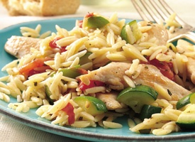 Mediterranean Chicken w/Rosemary Orzo-9 pts.