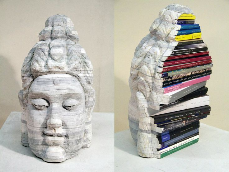 Rebound: Dissections and Excavations in Book Art at the Halsey Institute of Contemporary Art sculpture books
