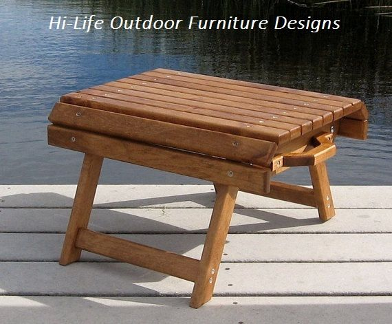 Folding Wood Foot Stool Handmade Of Alder Wood Quot The Nugget