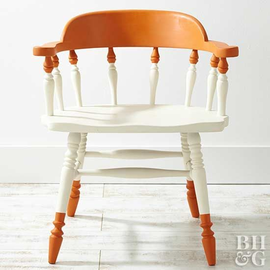 One person's trash is our treasure: Paint, fabric, wax, and cord fashion forlorn chairs into design-smart seats.
