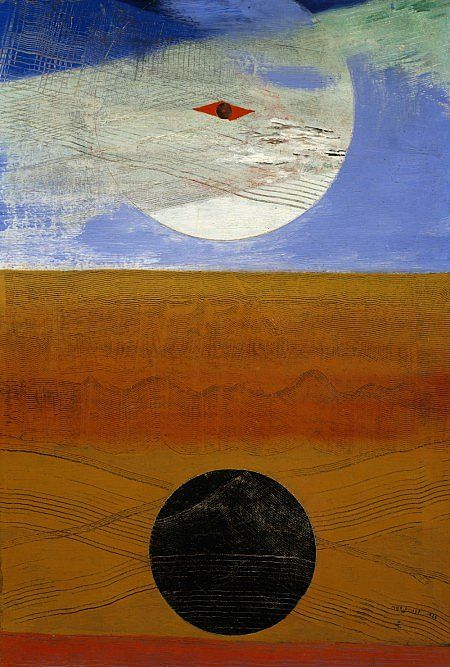 Max Ernst Mer et soleil [Sea and Sun] Dated 1925