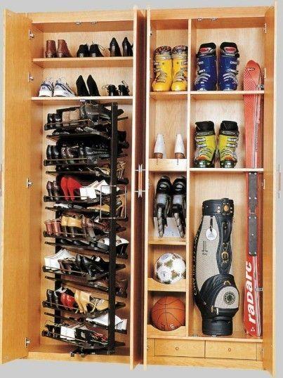Shoe Racks for Closets | ... Closet Shoe Racks Storage, Modern Stackable Revolving Shoe Rack
