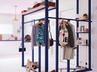 Realiser Un Vestiaire En Tasseaux Tasseau Mobilier De Salon Idee Deco