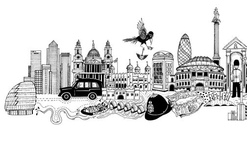 Millbank London Illustration