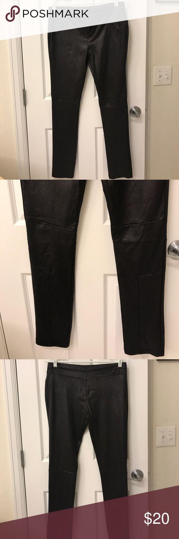 Stella Luce spandex pant Stella Luce Faux Leather spandex pant with shimmer. Stella Luce Pants Skinny