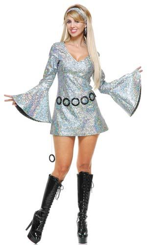 Sparkle Diva Disco Costume                                                                                                                                                                                 More