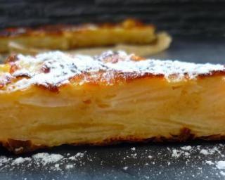 Gâteau invisible léger aux pommes