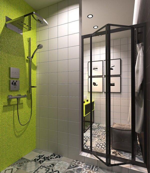 Home Designing U2014 (via Green Bathroom)