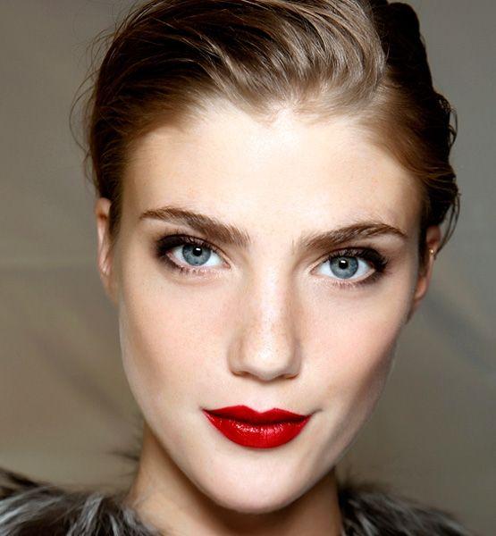 Cherry Red Lipstick | Makeup Inspiration | Pinterest