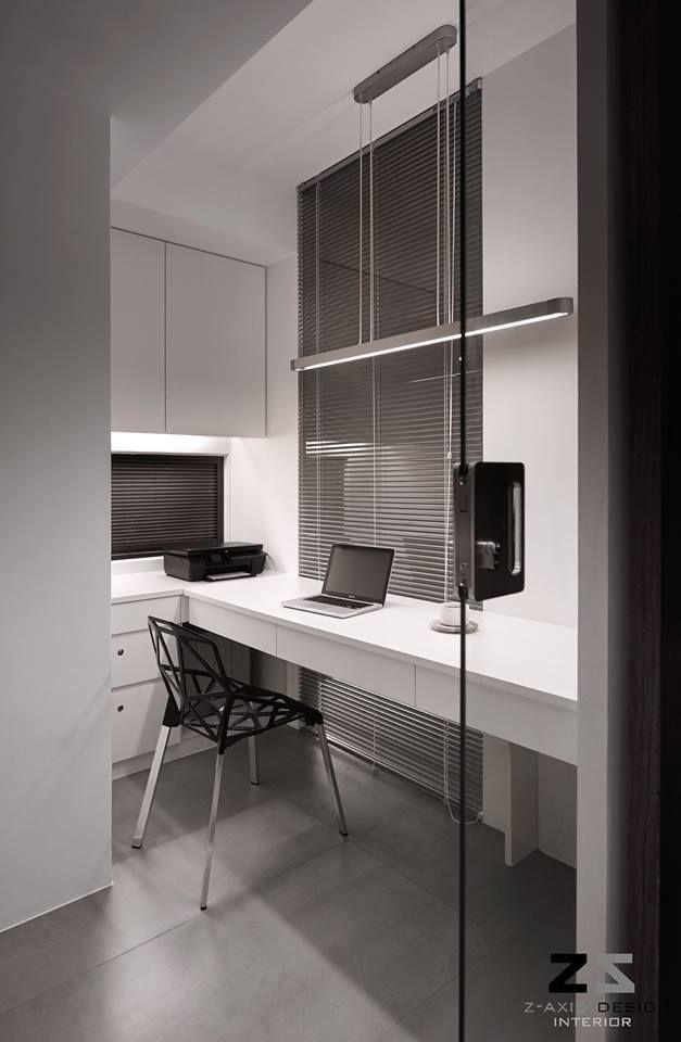 오늘은 20년된 올드한 아파트를 리모델링하여 모던한 새 아파트로 탈바꿈한 아파트 인테리어를 소개해 드립니다 Z-axis design 스튜디오가 디자인한 대만 타이중 시에 있는 아파트 인데요 이 가을에 아주 잘 어울리는 컬러와 깔끔한 라인이 돋보이는 모던 컨템포러리 디자인이에요 3개의 베드룸과 작은 워크스페이스,그리고 리빙 룸과 키친, 다이닝 룸은 하나의 오픈된 공간으로 이뤄져 있는데요 요리를 즐겨하지 않는지 키친은..