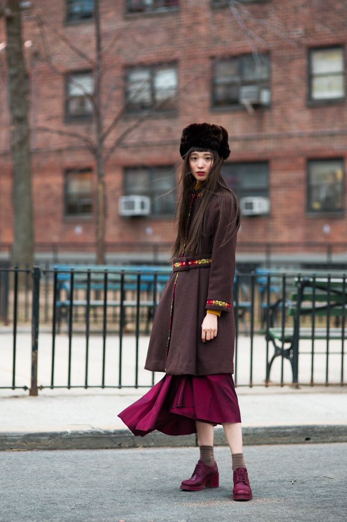 #507 Yuka Mannami after DKNY 2016FW NYFW — An Unknown Quantity