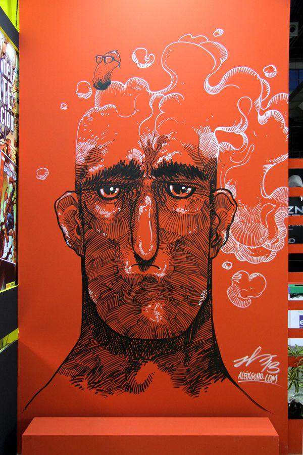 Artist: Aleix Gordo Hostau - Barcelona Comic Fair 2013