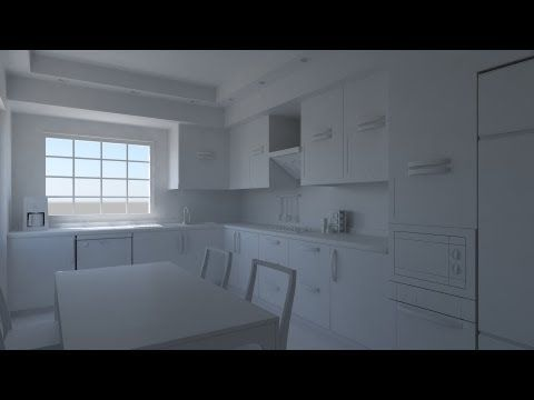Mental Ray İnterior Lighting Tutorial with 3ds max - YouTube