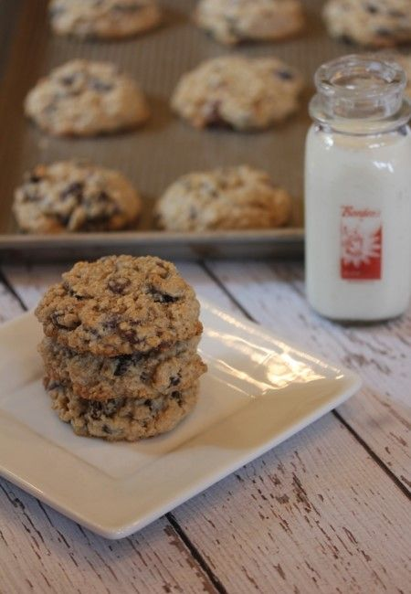 Flourless Oatmeal Cookies- Lynn's Kitchen Adventures