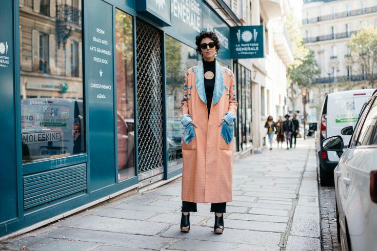 Sokak Stili: 2017 İlkbahar/Yaz Paris Moda Haftası 7. ve 8. Gün