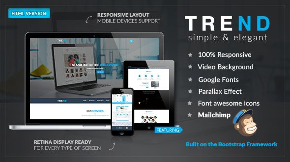 TREND – Multi-Purpose HTML Template by modeltheme | ThemeForest