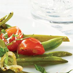 Crisp Green Beans With Grape Tomatoes: Diabetes Forecast®