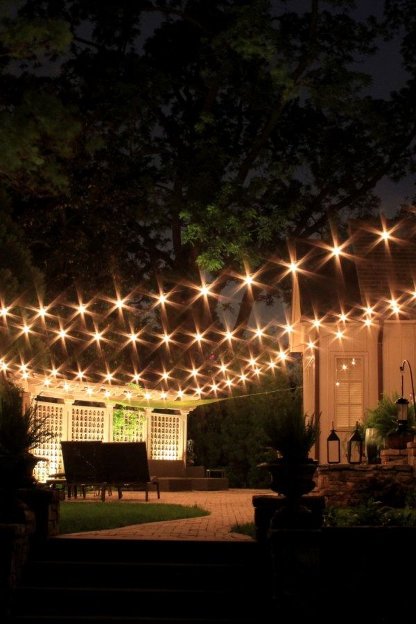 Creative Diy Patio Lighting Projects To Build Yourself To Add Beauty To Your Gardens Outdoor Patio Outdoor Patio Lights Diy Outdoor Lighting Outdoor Lighting